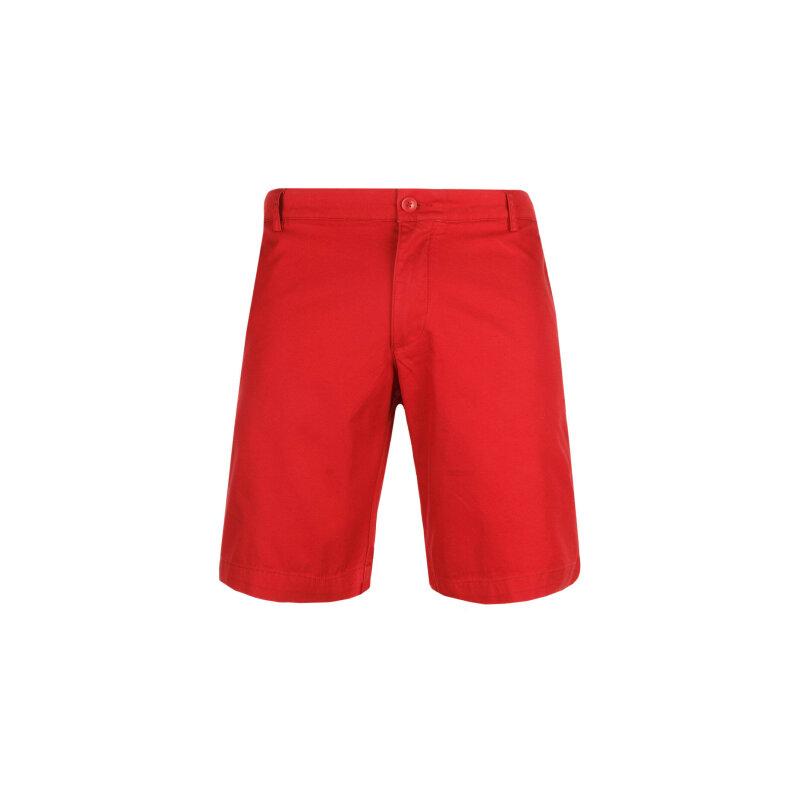 Szorty Lacoste czerwony