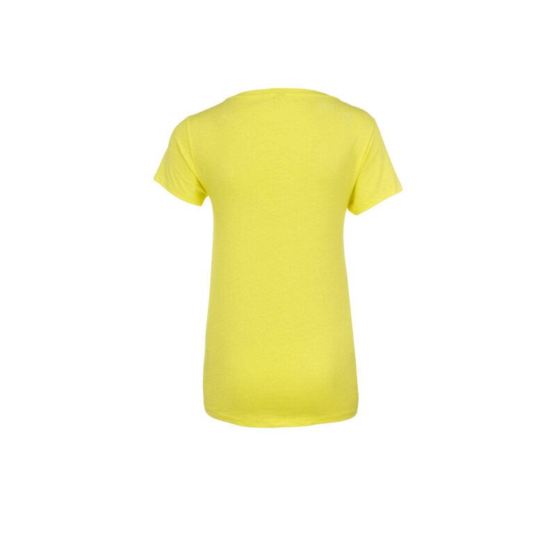 T-shirt Moschino żółty