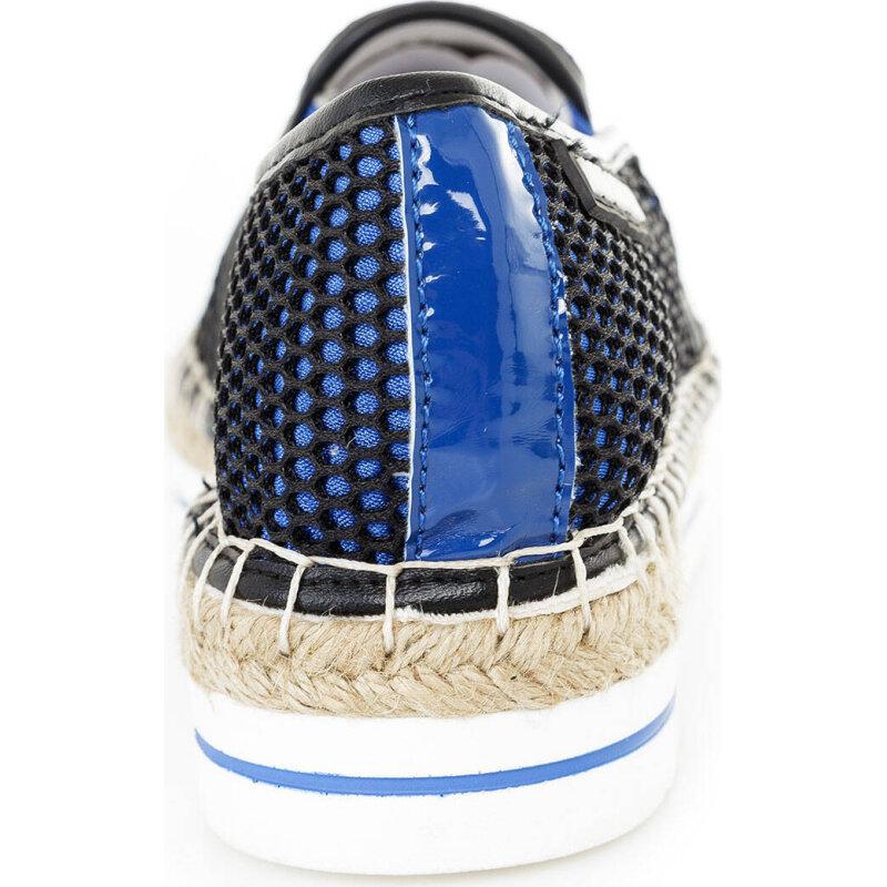 Espadryle Love Moschino niebieski