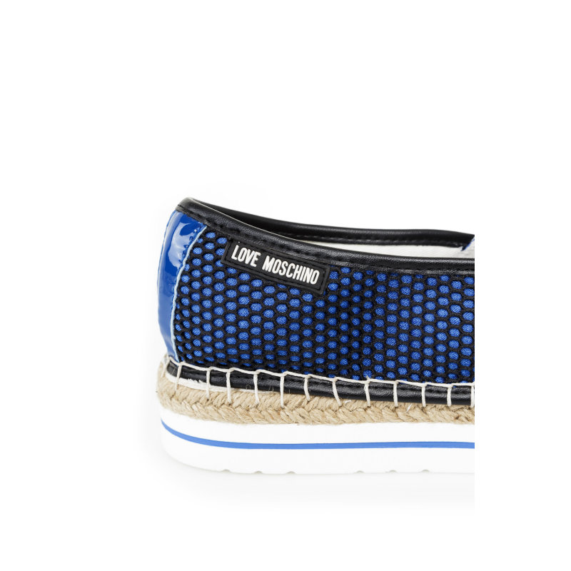 Espadrilles Love Moschino blue