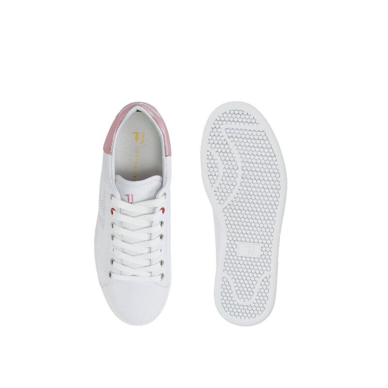 Sneakersy Trussardi Jeans różowy