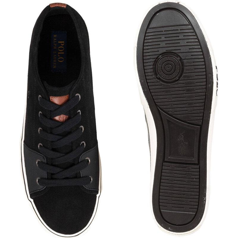 Cantor Low sneakers Polo Ralph Lauren black