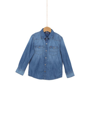 Tommy Hilfiger Slub Denim Shirt