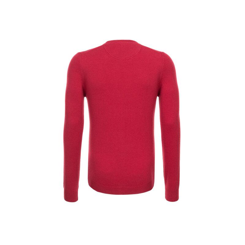 Sweter Trussardi Jeans czerwony