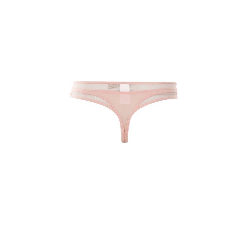 Stringi Calvin Klein Underwear pudrowy róż