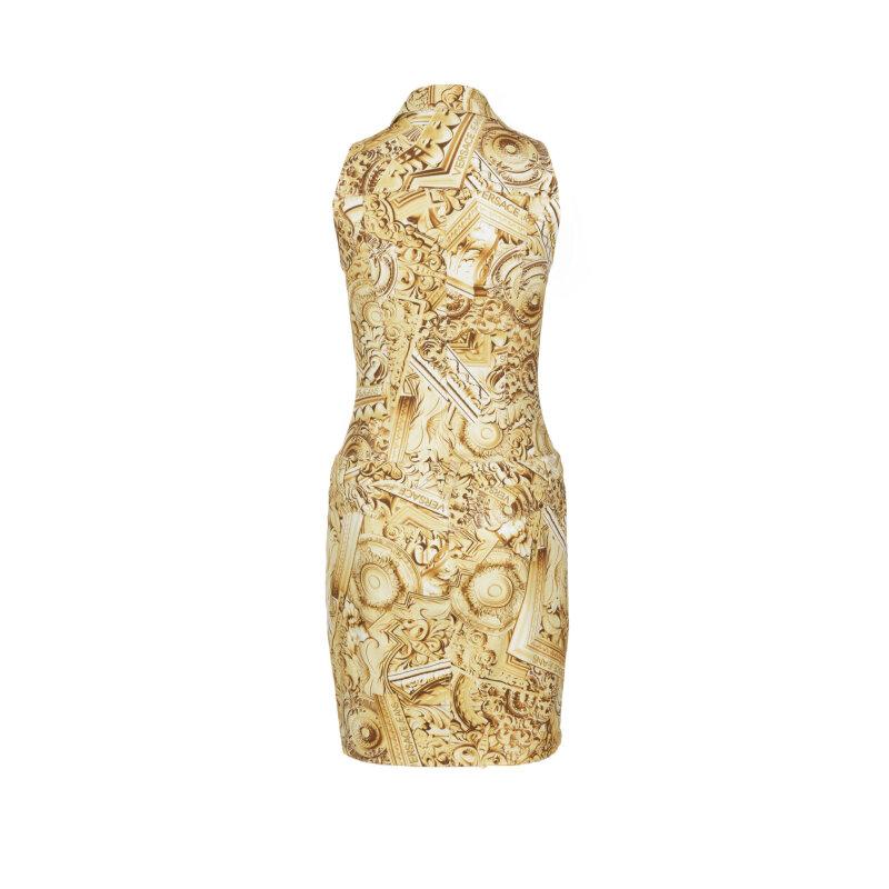 Dress Versace Jeans gold