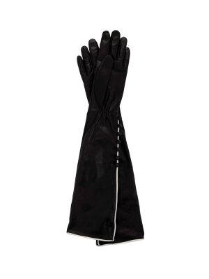 Elisabetta Franchi Skórzane rękawiczki