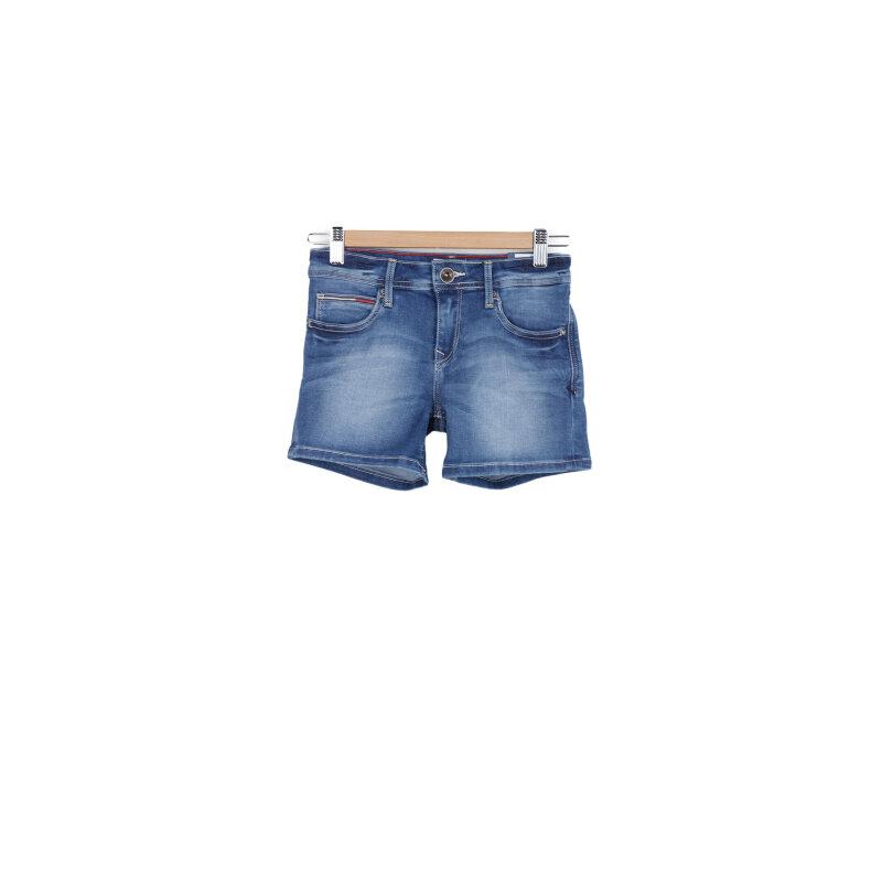 Szorty jeansowe Tommy Hilfiger niebieski