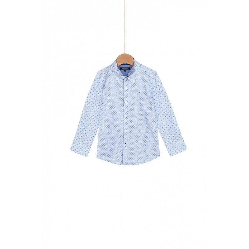 Koszula Liam Tommy Hilfiger niebieski