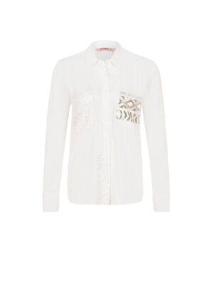 Desigual Koszula Exotic White