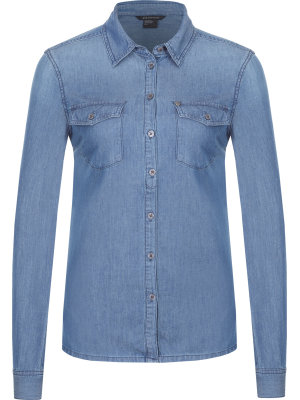 Armani Exchange Jeansowa koszula