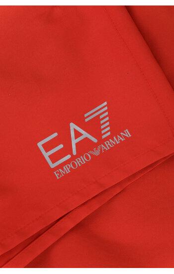 Szorty kąpielowe   Regular Fit EA7 czerwony