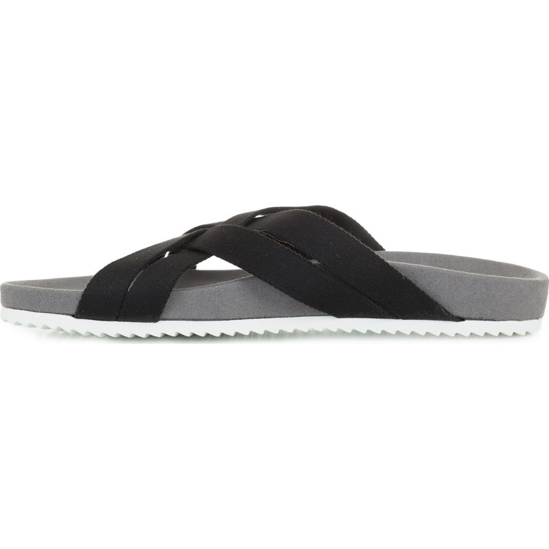 Bio Cross Slides Pepe Jeans London black