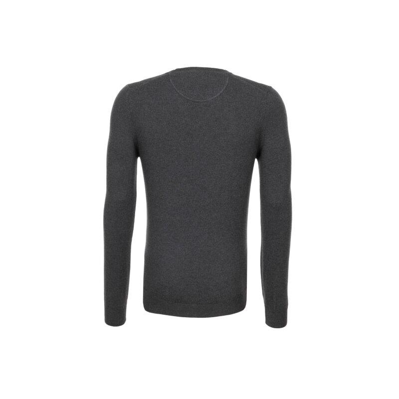 Sweter Trussardi Jeans szary