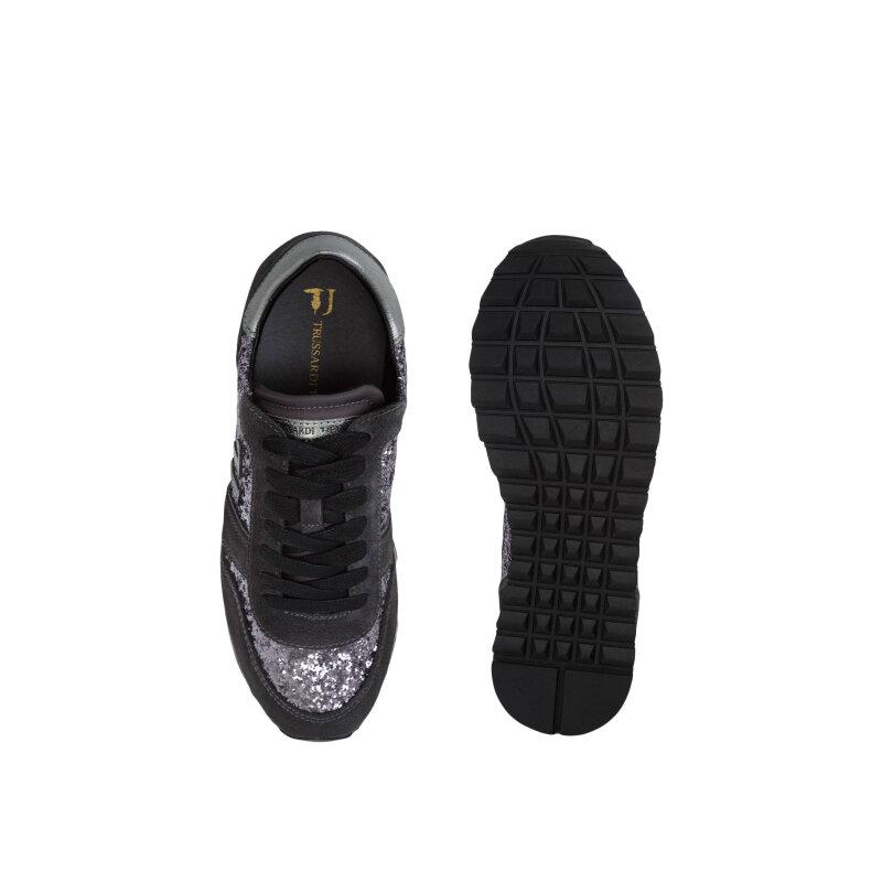 Sneakersy Trussardi Jeans szary