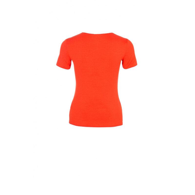 Bluzka Armani Collezioni pomarańczowy
