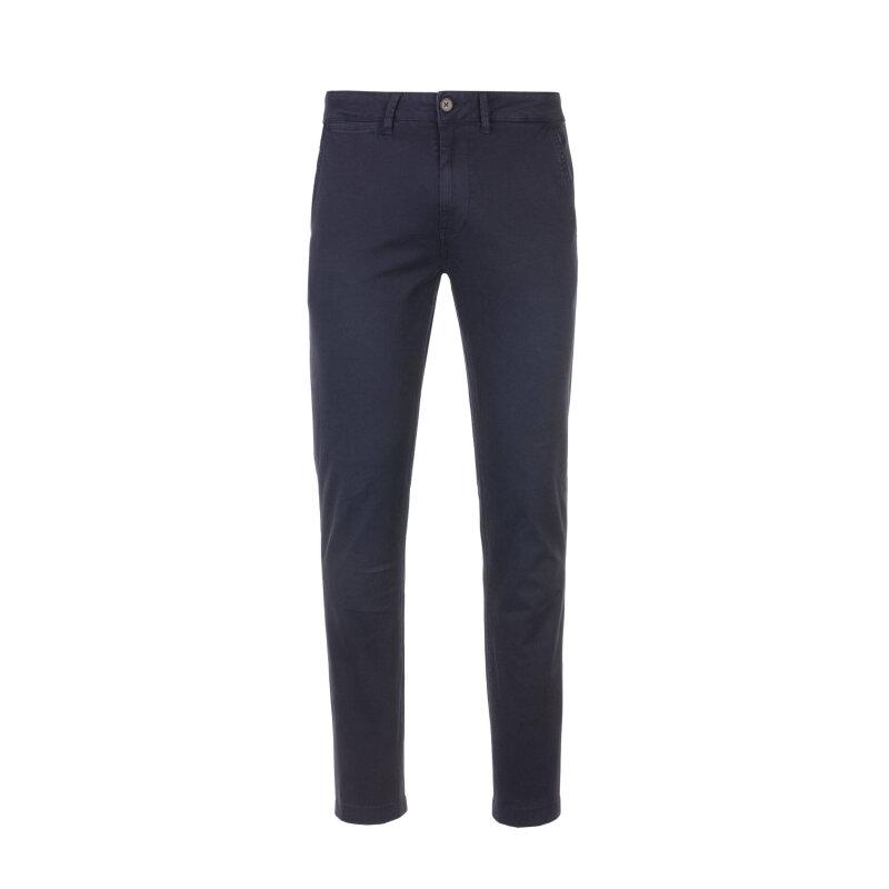 Spodnie Chino Sloane Pepe Jeans London granatowy