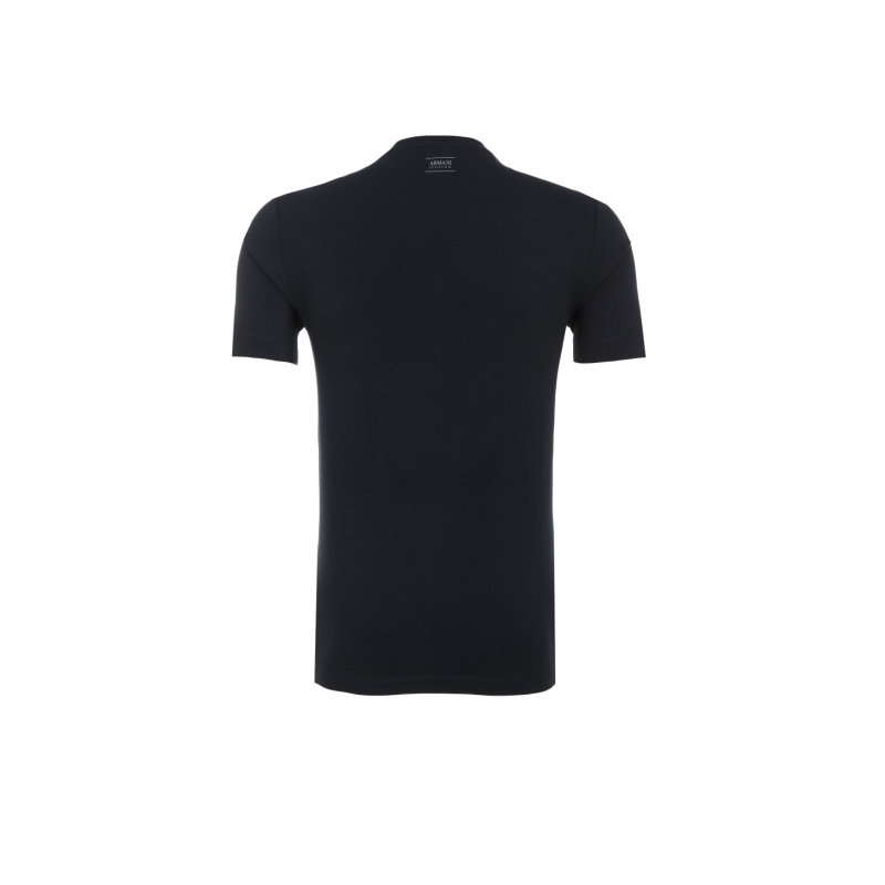 T-Shirt Armani Collezioni granatowy