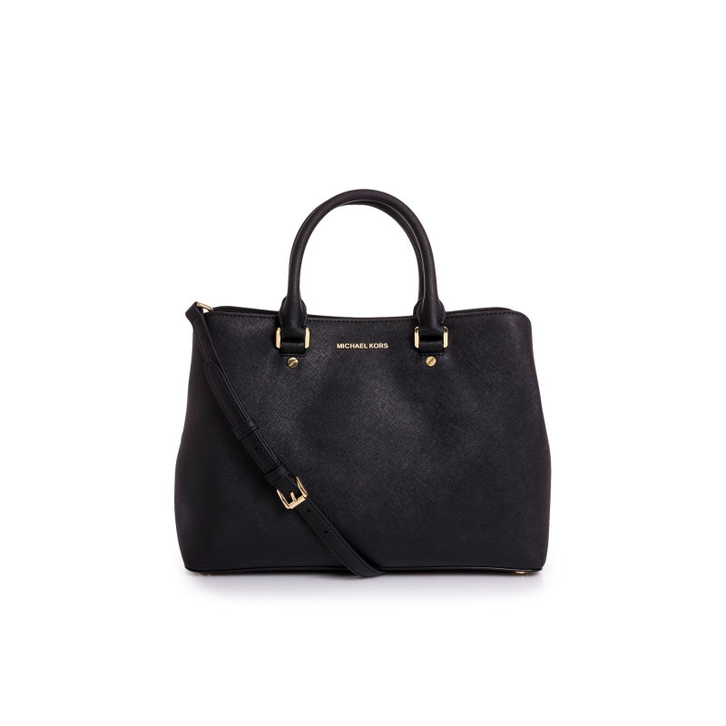 Savannah satchel Michael Kors black