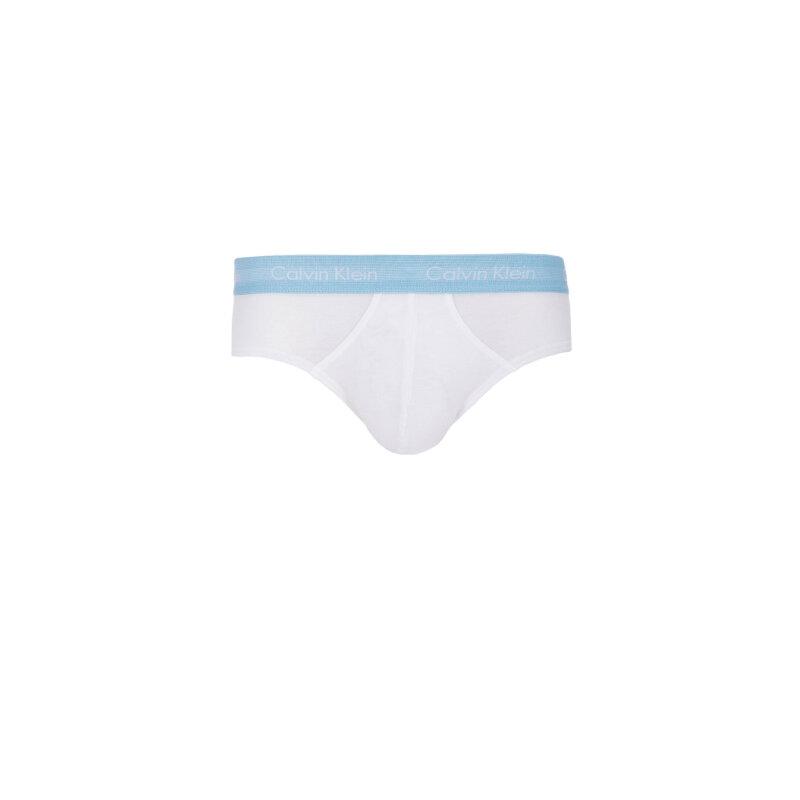 Slipy 3- Pack Calvin Klein Underwear biały