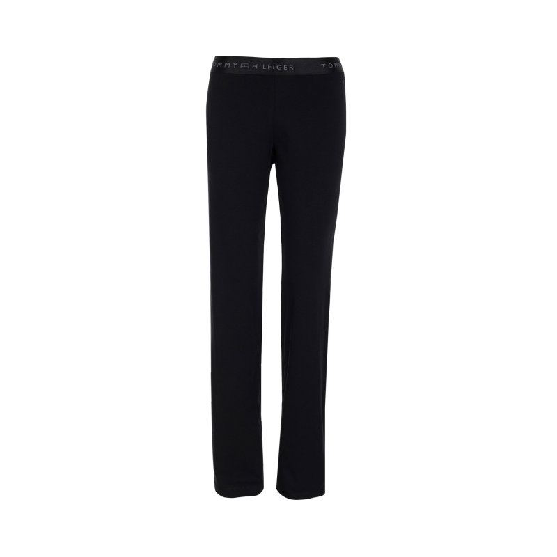 Spodnie Dresowe Iconic Tommy Hilfiger czarny