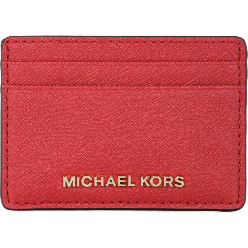 Jet set travel business card holder michael kors red gomezen business card holder michael kors red 32s4gtvd1l colourmoves