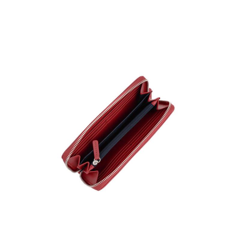 Portfel basic Tommy Hilfiger czerwony