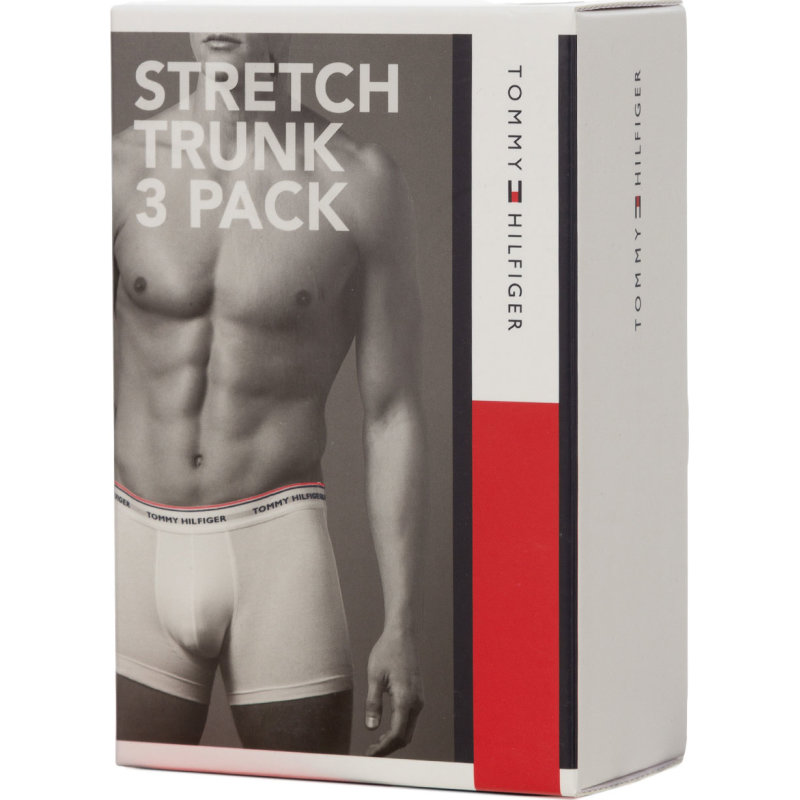 Stretch Trunk 3-pack boxer shorts Tommy Hilfiger gray