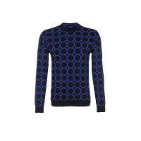 Sweter Trussardi Jeans granatowy