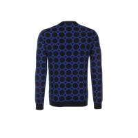 Sweater Trussardi Jeans navy blue
