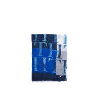 Szal Cotton Modal Tommy Hilfiger niebieski