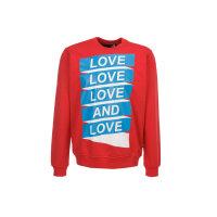Bluza Love Moschino czerwony