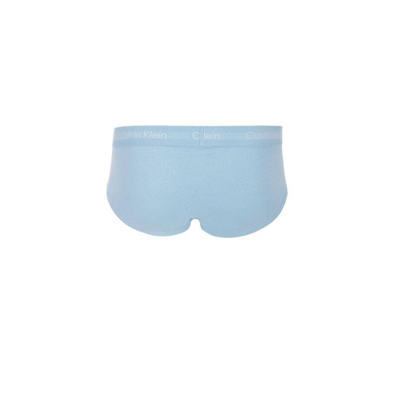 Slipy 3 pack Calvin Klein Underwear niebieski