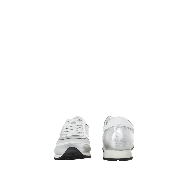 Sneakersy Trussardi Jeans srebrny