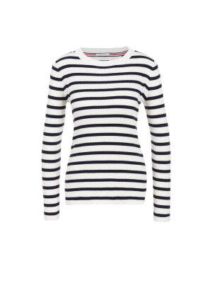 Hilfiger Denim Thdw Stripe Cn Sweater
