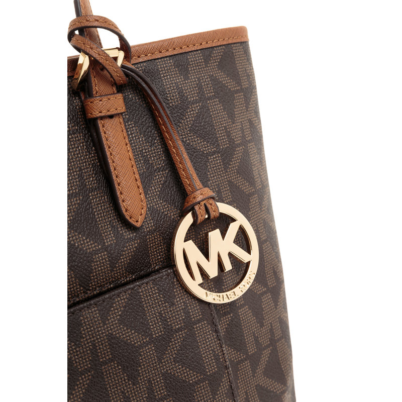 Shopperka Jet Set Item Michael Kors brązowy