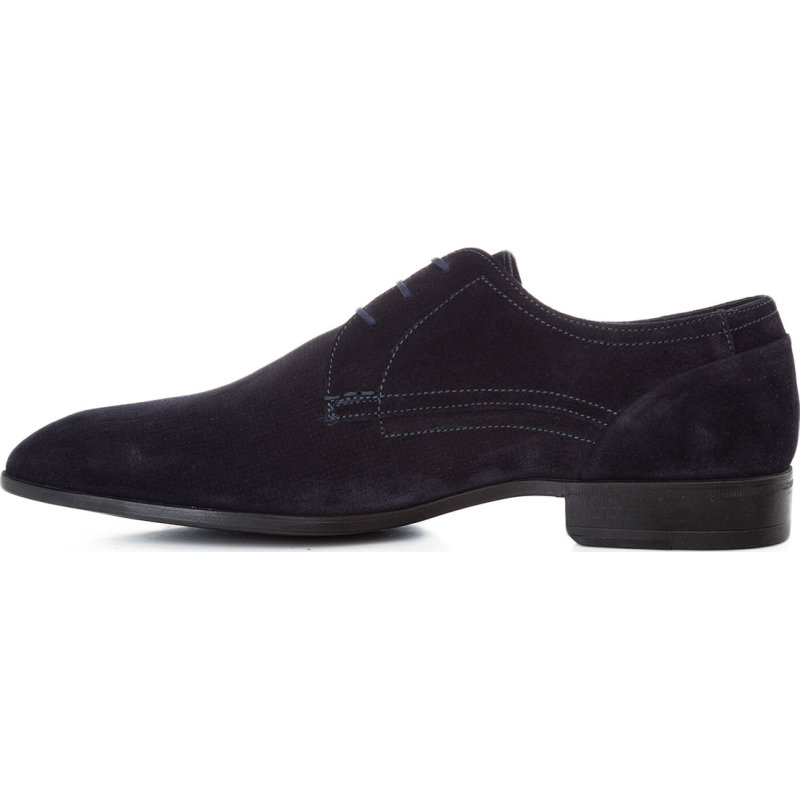 New Harley Derby Lace shoes Strellson navy blue