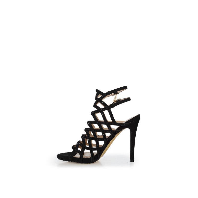 Gabbia Heeled Sandals Liu Jo black