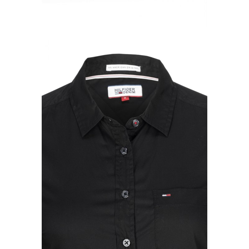 Original Shirt Hilfiger Denim black