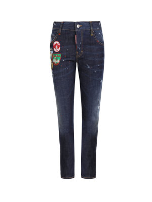 Dsquared2 Jeansy Cool Girl Cropped
