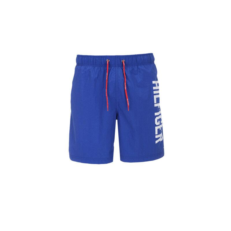 Szorty kąpielowe Logo Tommy Hilfiger niebieski