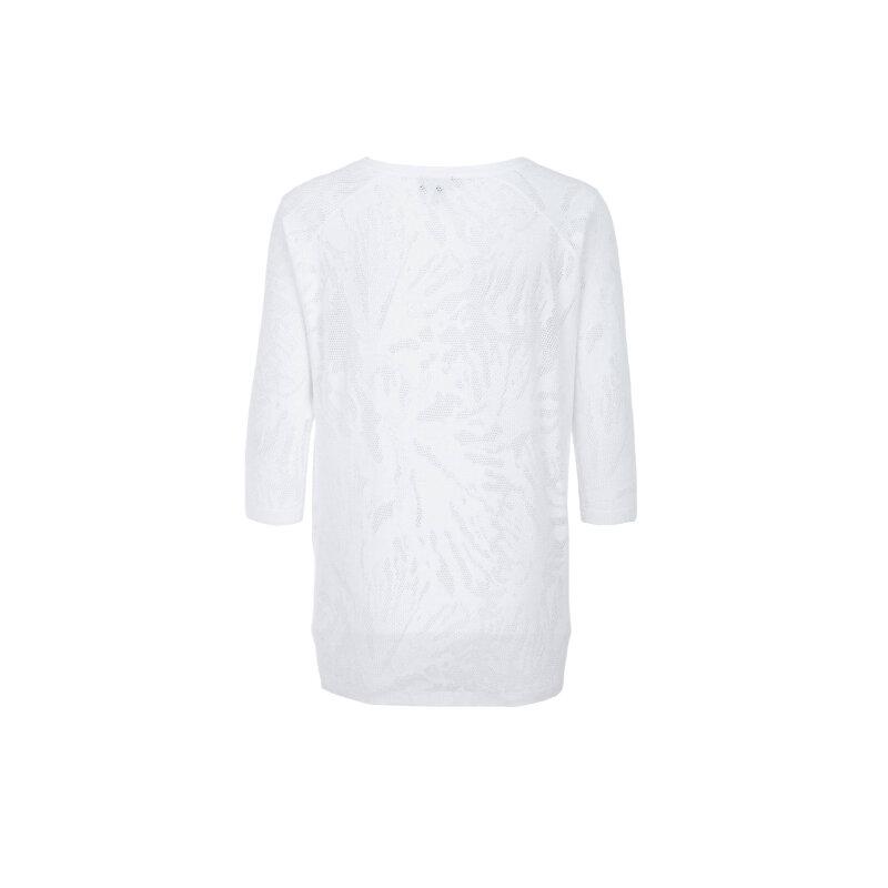 Sweter Armani Jeans biały