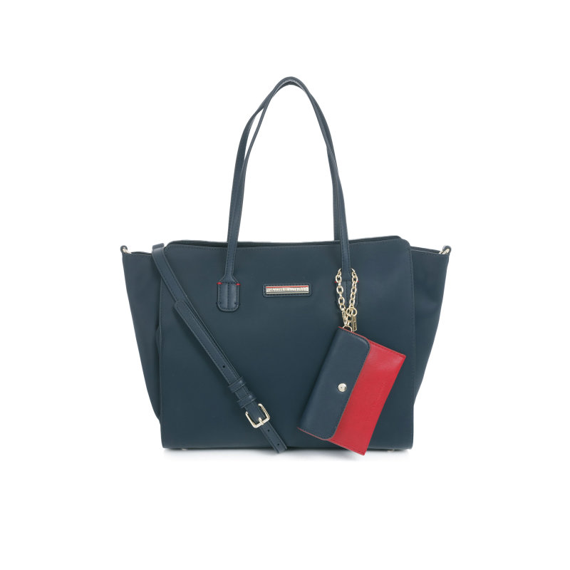Spring Day Shopper bag Tommy Hilfiger navy blue