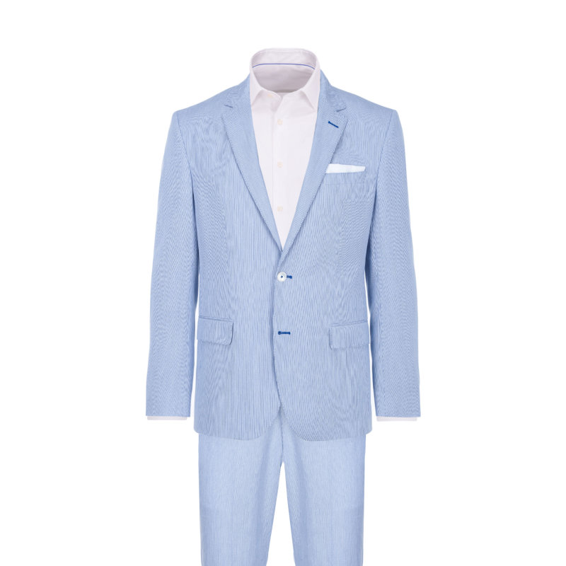 Hedson2/Gander1 suit Boss blue