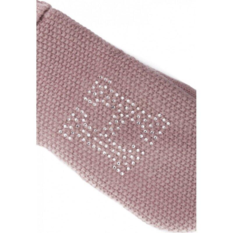 Rękawiczki Sparkle Tommy Hilfiger różowy
