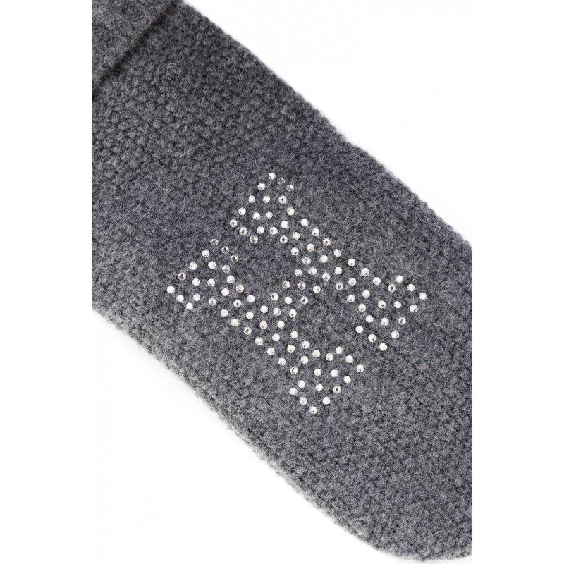 Rękawiczki Sparkle Tommy Hilfiger szary