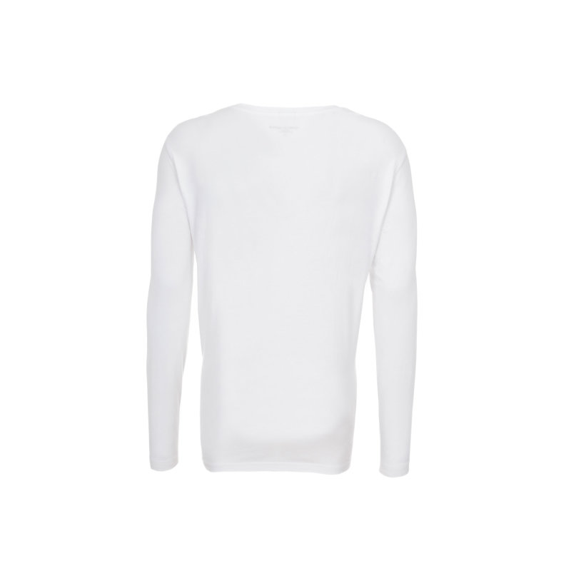 Longslevve/piżama Tommy Hilfiger biały