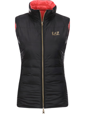 EA7 Two-sided gilet