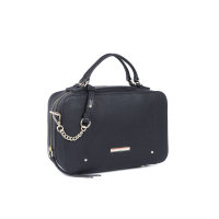 Chain Novelty satchel Tommy Hilfiger black