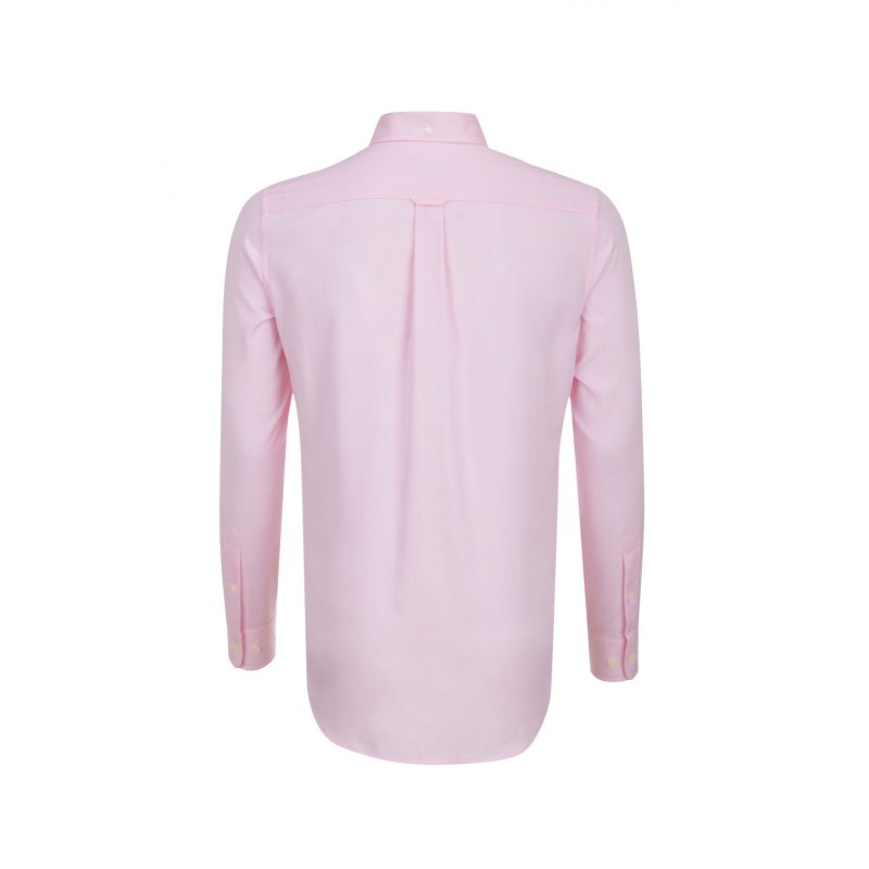 Pinpoint Oxford shirt Gant pink